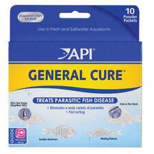 API GENERAL CURE for Parasitic Fish Disease  Flukes, Hole-in-Head 10/pk Powder