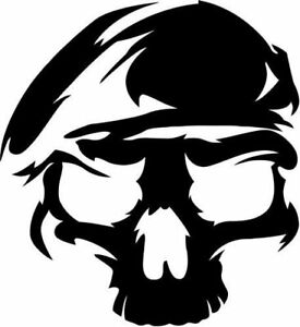 Vinyl Decal - U.S. Army Ranger (Skull)