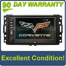 Chevrolet CORVETTE Radio GPS NAVIGATION Touch Screen LCD CD Disc Player 15820017