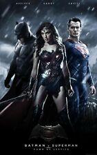 Póster de la película Batman V Superman-tamaños diferentes-opción de enmarcado (ww002)