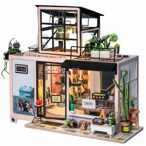 Robotime DIY Miniature House Kevin's Studio DG13 VIC warehouse fast delivery