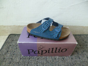 Papillio Mules House Shoe Slippers Blue Children Neu
