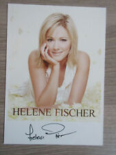 Helene Fischer original handsignierte Autogrammkarte / Musik T20