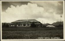 Sumatra Sumatera Indonesia Grand Hotel Brastagi Berastagi Real Photo Postcard