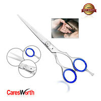 Hairdressing Barber Scissor Razor Sharp Convex 440C Salon Hair Cutting Shears