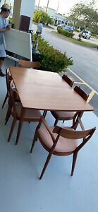 Drexel Declaration Dining Room Table & Chairs MCM