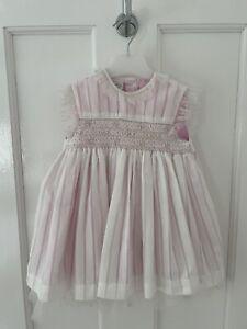 Pretty Originals Baby Girls Pink Dress Age 18 Months