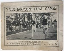 1912 Harvard vs Yale Dual Games Track And Field  Soldiers Field Harvard