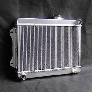 3Rows 52mm For Jensen Healey 1972-1975 L4 Aluminum Radiator 2.0L MT 7454