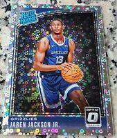JAREN JACKSON JR 2018 Donruss #1 Draft Pick RATED Rookie Card RC SP Grizzlies $