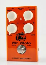 New J Rockett Audio Tour Series Mr Moto Tremolo Reverb Guitar Effects Pedal