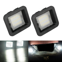For 2015-2019 Ford F-150 SUPER BRIGHT SMD LED License Plate Light Lamp Housing