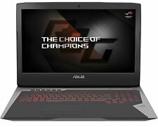 "New Asus G752VS 17.3"" Laptop i7-6820HK 64GB 1TB 512GB SSD GTX1070 8GB W10 Pro"