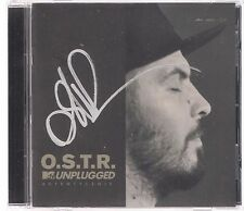 O.S.T.R.- MTV UNPLUGGED AUTENTYCZNIE SIGNED AUTOGRAF TOP RARE OOP NEW CD OSTR