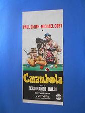 LOCANDINA CARAMBOLA FERDINANDO BALDI PAUL SMITH MICHAEL COBY A1