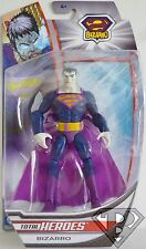 "BIZARRO DC Comics Superman Total Heroes 6"" inch Action Figure Mattel 2014"