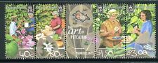 2003 Pitcairn Island Painted Leaves Muh Set of 4 Stamps