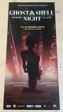 GHOST IN THE SHELL NIGHT Locandina Originale 33x70 Poster Film Japan Anime