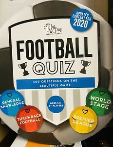 The Way of Play Classic Games FOOTBALL QUIZ Brand New Sealed Free Postage
