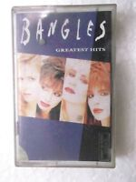 BANGLES GREATEST HITS  1997 RARE orig CASSETTE TAPE INDIA indian