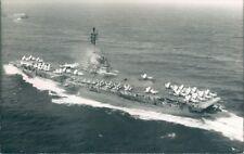 Postcard Sized Photo American Essex Class Aircraft Carrier USS Lexington p2