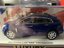 Cadillac Srx 2011 Luxury Collectables In Blue 1:43 Model