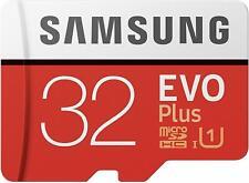 Scheda microSD da 32 GB Samsung MB-MC32GA EVO Plus UHS-I U3 + Adattatore SD