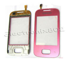 Samsung Galaxy Pocket S5300 Touch Screen Digitizer Front Glass Panel Pad Pink UK