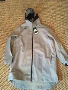 Nike Jacket Protect Repel Gray Basketball Parka AJ6719-065 Men's Size XL NWT
