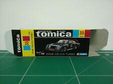 REPRODUCTION BOX for Tomica Black Box No.35 Dome Celica Turbo