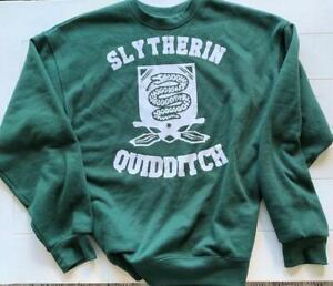 HP Inspired SLYTHERIN QUIDDITCH Sweatshirt