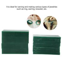 Wax Carving Slices Ferris Assortment Green Wax Design Carve Jewelry Mold Tool