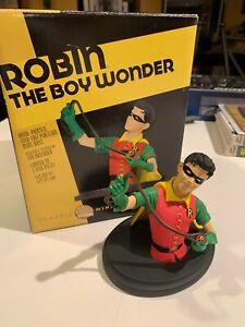DC Direct Robin the Boy Wonder Classic Mini Bust Tim Bruckner Statue