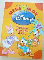MEGA COLOR - TOPOLINO PAPERINO & CO - Disney Libri - Libro nuovo in offerta!