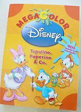 MEGA COLOR - TOPOLINO PAPERINO & CO - Disney Libri - Libro nuovo in offerta!