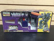 Original GALVATRON 1986 Takara G1 Transformers with Stickers