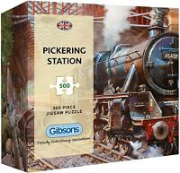 Gibsons Pickering Station 500 Piece Gift Box Jigsaw Puzzle