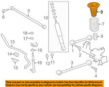TOYOTA OEM 98-02 4Runner Rear Suspension-Spring Seat 4830260051