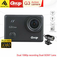 """GITUP G3 Duo 2K FHD WIFI Action Camera 2.0"""" Touch Screen 90° ,Slave camera 24fps"""