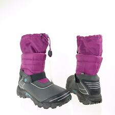 Kids Merrell Moab Arctic Shoes Purple Nylon Waterproof Boots Size 6 M NEW!