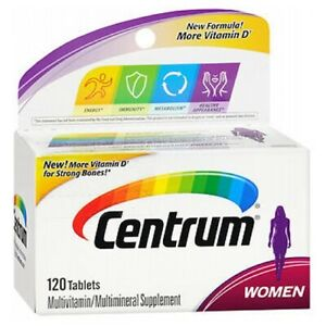 Centrum Womens Tablets 120 Tabs by Centrum