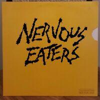Nervous Eaters WLP Vinyl LP 1980 Elektra Records Gold Promo Stamp on Jacket