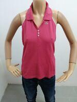 Maglia LACOSTE donna taglia size 44 maglietta t-shirt woman cotone P 5527