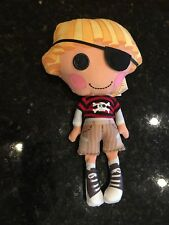 "Lalaloopsy 10"" Boy Pirate Patch Treasurechest Soft Stuffed Plush Doll Sew Cute"