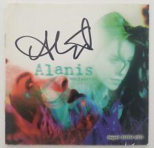 Alanis Morissette Signed Jagged Little Pill CD Booklet Musical Cambridge ART