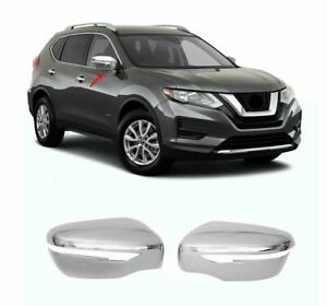 Fits Nissan Rogue Sport 2017-2020 Abs Wing Chrome Mirror Cover 2Pcs