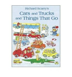 Cars and Trucks and Things That Go by Scarry, Richard Book The Cheap Fast Free