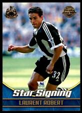 Topps Premier Gold 2002 - Newcastle United Laurent Robert - NU1