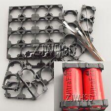 20x2 26650 Battery Spacer Radiating Holder Bracket EV Electric Car Bike Toy DIY