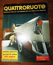 Quattroruote Maggio 1956 N. 4 originale